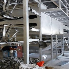 Dây chuyền sản xuất găng tay y tế latex